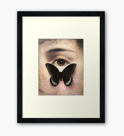 Thank You for Your Love Framed Print