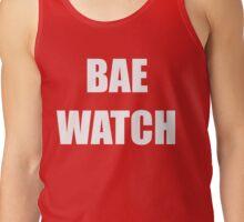 Bae Watch white Tank Top