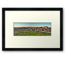 Craigs Hut Panoramic  Framed Print