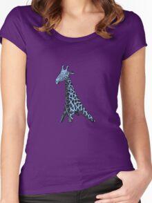 Blue Giraffe Women's Fitted Scoop T-Shirt