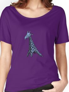 Blue Giraffe Women's Relaxed Fit T-Shirt