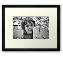 Nephew Framed Print