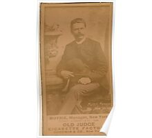Benjamin K Edwards Collection Jim Mutrie New York Giants baseball card portrait 001 Poster