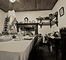 Monte Cristo - Servant's Dining Room by bazcelt