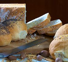 Assorted breads by Edwin Reese