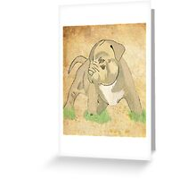 Brindle Pit Greeting Card