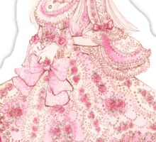 Belle Époque Rose Sticker