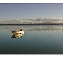 Tinny Wallis Lake nsw by kevin chippindall