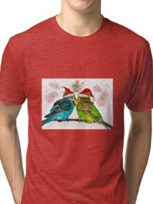 Christmas Cuddles Tri-blend T-Shirt