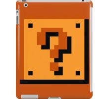 Mario Item Block  iPad Case/Skin