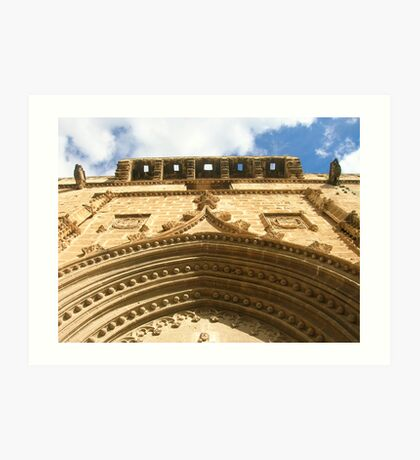 St Bartholomew's church  Art Print