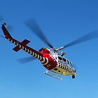 Helimed 5 - Air ambulance - Gippsland by Bev Pascoe