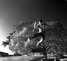 Tre flip 2 Pennie Smith style by Ryan James