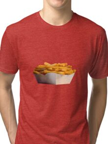 French Fries Portion of Chips Tri-blend T-Shirt