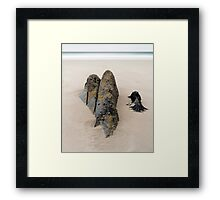 The Bedruthan Steps Framed Print
