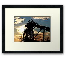 Close the Coal House Door Framed Print