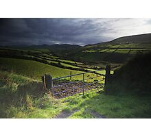 Dingle road Photographic Print