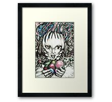 They Call Me Clever Framed Print
