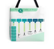 8 Limbs of Yoga Tote Bag