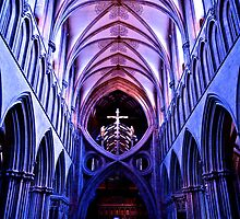The Nave - Wells Cathedral by andonsea