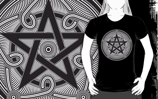 Celtic Pentagram by luckydevil