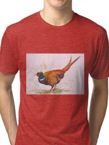 Gorgeous Pheasant Tri-blend T-Shirt