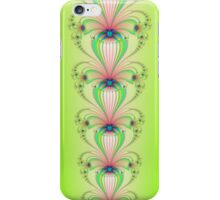 Climbing Flowers on Green iPhone Case/Skin