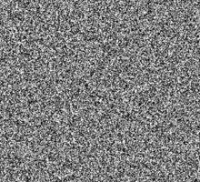 White Noise Pattern Sticker