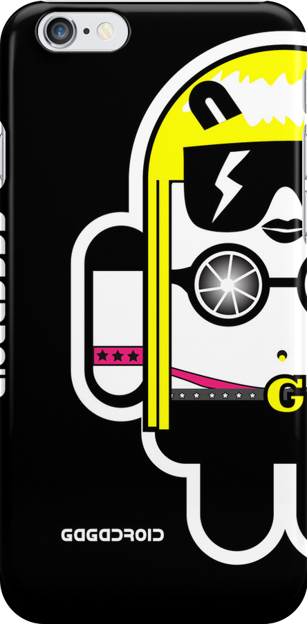 Lady Gaga goes Google Android Style!  by soulthrow