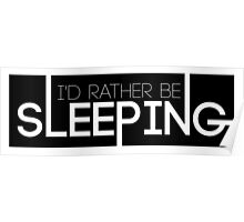 BTS/Bangtan Sonyeondan - I'd Rather Be Sleeping Poster