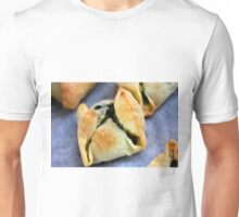 Delicious Pastry With Spinache Unisex T-Shirt