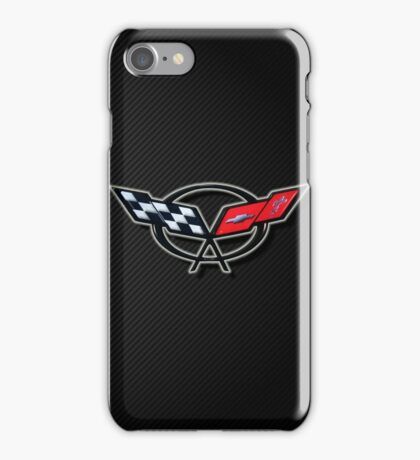C5 Corvette emblem  iPhone Case/Skin