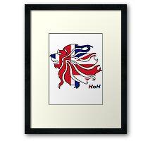 Olympics Mascot Framed Print