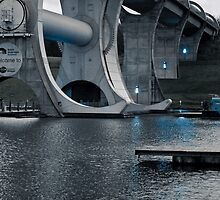 Structure of the Falkirk Wheel by Forfarlass