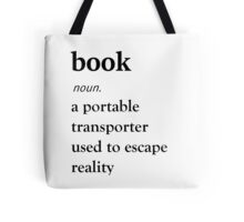 Book Definition Tote Bag