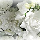 Lost In The Soft White Roses by Jane Neill-Hancock