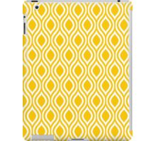 Modern Classic Yellow Pattern iPad Case/Skin