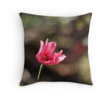A Rather Blustery Day Throw Pillow