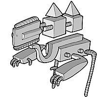 Robot n.1 Photographic Print