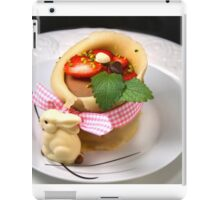 No Dessert for Innocent Lambs iPad Case/Skin