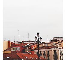 Calle Mayor Photographic Print
