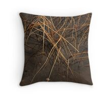 Pier Side Waterscape Throw Pillow