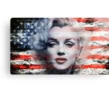 A Marilyn Flag Canvas Print