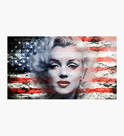 A Marilyn Flag Photographic Print