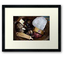 herbal cosmetics Framed Print