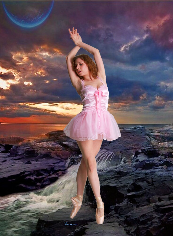 SUNSET BALLET by Tammera