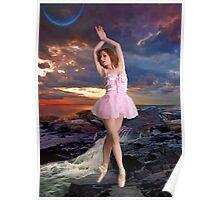 SUNSET BALLET Poster