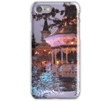Christmas Bandstand iPhone Case/Skin
