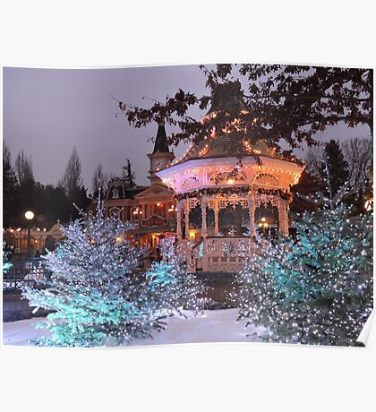 Christmas Bandstand Poster