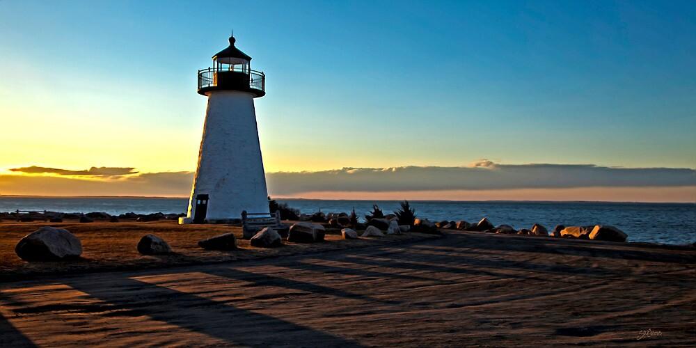 Ned's Point Light, Mattapoisett, MA by Stephen Cross Photography